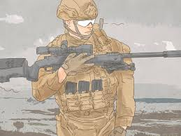 marine sniper pictures wikihow