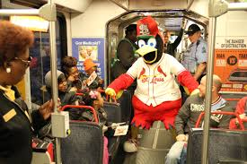 fredbird to ride forest park trolley to child safety day metro