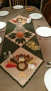 thanksgiving table runner pattern november 2014 sunnydayquiltingandembroidery com