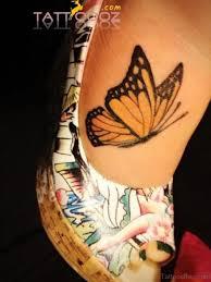74 delightful butterfly tattoos on foot