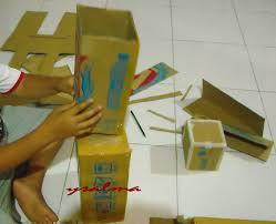 membuat mainan edukatif dari kardus membuat mainan karakter minecraft dari kardus ysalma