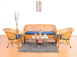 Buy Second Hand Furniture Bangalore Myong Bamboo 5 Seater Sofa Set Buy And Sell Used Furniture And