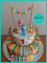 pocoyo cake toppers pretty inspiration pocoyo cake all cakes