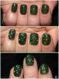 diy christmas nail art ideas designs hairstyles beauty and