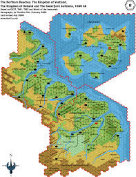Tos Map File Northern Reaches 8 Png Atlas Of Mystara
