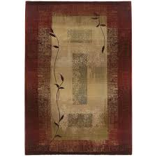 home decorators area rugs home decorators collection mantra red 9 ft 9 in x 12 ft 2 in