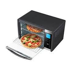 Toaster Oven Pizza 6 Slice Convection U0026 Rotisserie Countertop Toaster Oven With