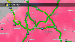 Indiana Road Conditions Map Pittsburgh Traffic Dangerous Driving Conditions During Winter