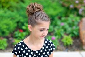 cute girl hairstyles how to french braid double french messy bun updo cute girls hairstyles
