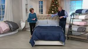 Northern Lights Comforters Northern Nights 400tc 600fp Reversible King Down Comforter U2014 Qvc Com