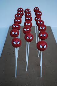 super hero cake and cake pops sweetworldofcakes