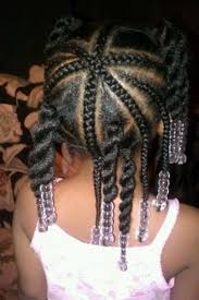 home haircuts cute little black braided hairstyles