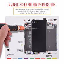 25x20cm professional magnetic mat for iphone 6s plus guide