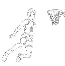 basketball coloring pages for kids basketball coloring pages