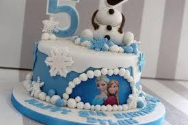 Olaf Disney Frozen 5th Birthday Cake Bakealous