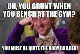 Gym Meme - grunt at gym meme picture ebaum s world