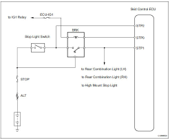 brake light switch wiring toyota rav4 service manual open in stop light switch circuit