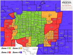 Zip Code Map Phoenix by Phoenix Area Zip Codes Pictures To Pin On Pinterest Pinsdaddy