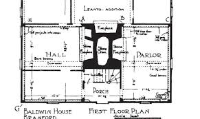 Simple Colonial House Plans Simple Colonial Saltbox House Plans Placement House Plans 86701