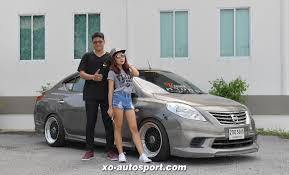 nissan almera rocket bunny xo autosport