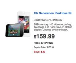 best buy black friday deals early black friday deals on best buy include 159 99 ipod touch