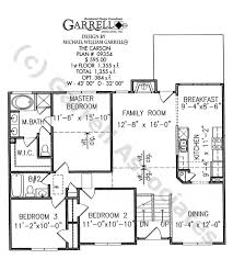 master on house plans carson house plan house plans by garrell associates inc