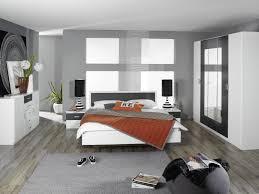 chambre moderne pas cher chambre complete pas cher pour adulte design blanche et grise