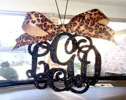 on sale rear view mirror charm rearview mirror monogram