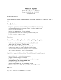 receptionist resume template free resume template and