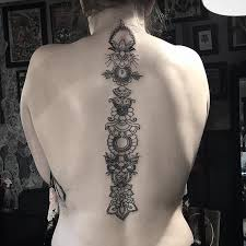 47 and alluring spine tattoos for 2017