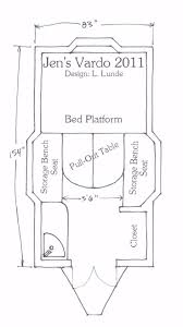 147 best rv wagon tiny home floor plans images on pinterest