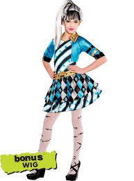 Halloween Costumes Monsters Girls Monster Frankie Stein Costume Party Red Carpet
