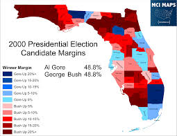 National Election Results Map by The Disappearing Swing Counties Of Florida U2013 Mci Maps