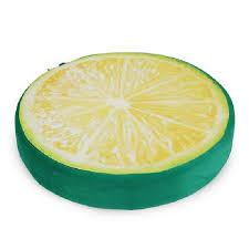 siege en forme de tempsa 3d oreiller creative siège en forme de fruit coussin pour
