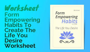 private label worksheets form empowering habits to create the