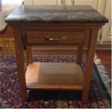 granite top end tables end tables refurbished in granite gray shelby chic projects