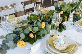 Easter Table Decor Easter Table Decor For The Diy Fiend Metro Us