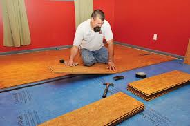 Cork Flooring In Basement Cork Works Installing Cork Flooring Basements Cork And Benefit