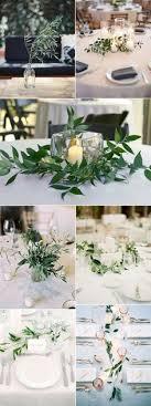 wedding table decoration ideas 2017 wedding trends top 30 greenery wedding decoration ideas