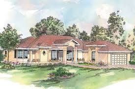 Mediterranean Style House Plans by Spanish Style House Plans Richmond 11 048 Associated Designs