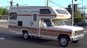 ford motorhome rv shasta motorhome rv f 250 1 piece chinook camper 1 owner class