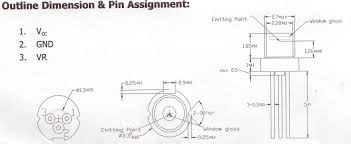 3 3mm laser diode or module driver circuit housing and lens