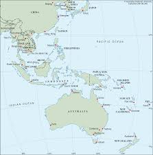 Map Of Eastern Asia by East Asia New Zealand Cartogis Services Maps Online Anu