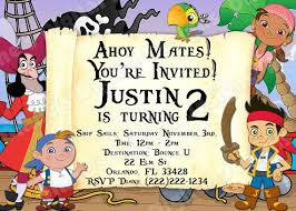jake neverland pirates party invitations cimvitation