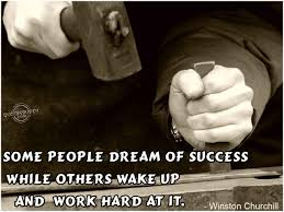 quote from the bible about hard work some people dream of success u2026