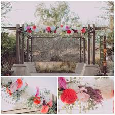 wedding arch las vegas southwestern wedding justin las vegas wedding