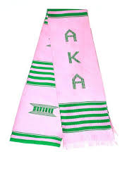 aka graduation stoles cheap alpha kappa alpha paraphernalia find alpha kappa alpha