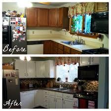 Budget Kitchen Makeovers Before And After - under 350 kitchen makeover u2013 part three backsplash u2014 weekend craft