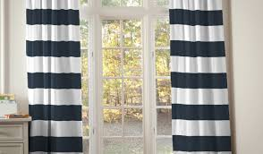 96 Inch Curtains Blackout by Curtains Uncommon 96 Inch Navy And White Curtains Satiating