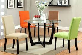 Colored Dining Room Chairs Creative Different Colored Dining Chair Dining Rooms With